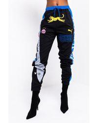 PUMA X Kid Super Track Pants - Black