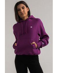 Champion - Women's Reverse Weave Pullover Hoodie - Lyst