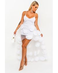 AKIRA You Make Me Dreamy Spaghetti Strap Maxi Dress - White