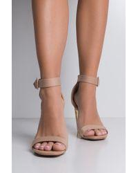 Cape Robbin - Poppin Perplex Wedge Sandals - Lyst