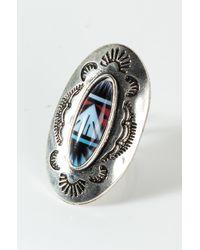 AKIRA Captain Planet Statement Ring - Metallic