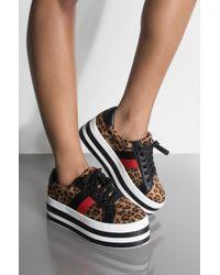 AKIRA - Girls Like You Platform Sneaker - Lyst