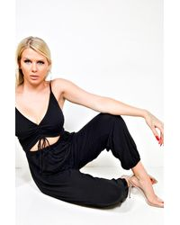 PAXTON Tanner Casual Playsuit - Black