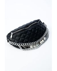 AKIRA Pearly Chains Fanny Pack - Black