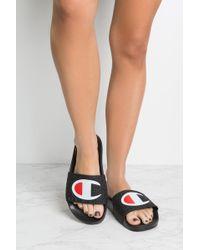 Champion Slides - Black