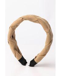 AKIRA The Finishing Touch Braided Headband - White