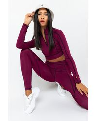 AKIRA Ready For Anything Tracksuit Top - Purple
