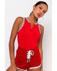 Fila Womens Ulka Bodysuit - Red