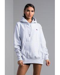 e8c3524c5 Reverse Weave Pullover Hoodie - Gray