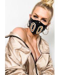 AKIRA Gold Zero Fashion Face Cover - Metallic