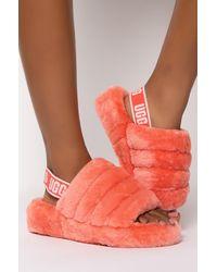UGG Fluff Yeah Slide - Pink