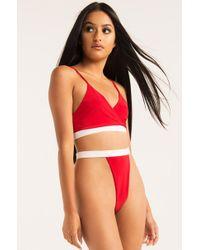 AKIRA Aint Got Time Underwear - Red