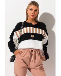 Reebok X Gigi Hadid Womens Fleece Crew Sweatshirt - Black