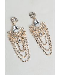 AKIRA - See Without Looking Statement Earring - Lyst