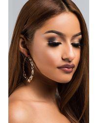AKIRA - Galore Hoop Earring - Lyst