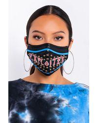 AKIRA - Exploited Pu Fashion Face Mask - Lyst