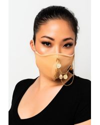 AKIRA Chill Out Fashion Face Cover - Natural