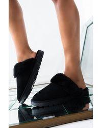 AKIRA - Always Comin Back Slip On Sandal - Lyst
