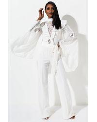 AKIRA - Senorita Bell Sleeve Jumpsuit - Lyst