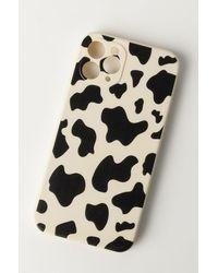 AKIRA Cow Print Iphone 11 Pro Case - Black