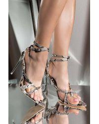 6a143550e15 Cape Robbin - Goddess Vibes Pointed Toe Heeled Sandal - Lyst