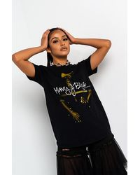 AKIRA Mary J Blige Graphic T-shirt - Black