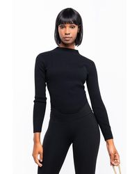 AKIRA Coco Rib Sweater - Black