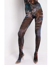 AKIRA Angel Vibes Mesh Tights - Multicolor