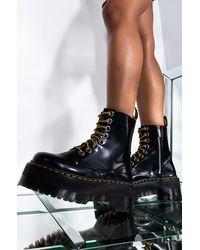 AKIRA Dr Martens Jadon Max High Platform Boot - Black
