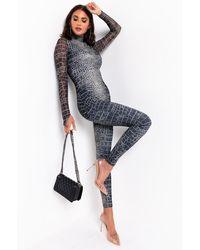 AKIRA Risky Business Long Sleeve Jumpsuit - Black