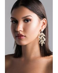 AKIRA - Lil Chardonnay Gold Earring - Lyst