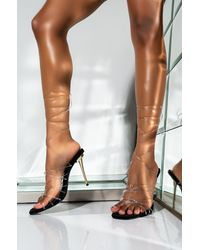 AKIRA - My Bad Stiletto Sandal - Lyst