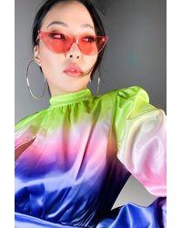AKIRA Amanda Wang Small Fashion Sunnies - Pink