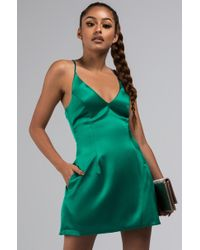 AKIRA - Let's Make A Date Out Of It Skater Dress - Lyst