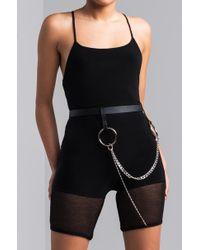 AKIRA - Going Up Chain Belt - Lyst