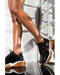 Champion Vtx Patent Sneaker - Black