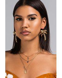 AKIRA - Palm Angel Earring - Lyst