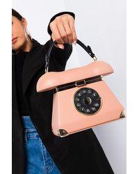 AKIRA New Phone Who Dis Telephone Trend Bag - Natural