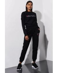 Champion - Womens Reverse Weave JOGGER With Chainstitch C Logo - Lyst