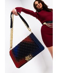 AKIRA Im Ready Quilted Rubber Purse - Multicolour