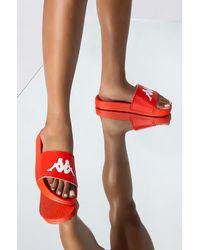 Kappa Authentic Adam 2 Womens Slide Sandal - Red