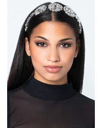 AKIRA Mid Spring Flower Headband - Metallic