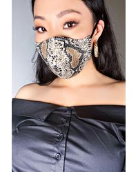 AKIRA Snake Vibes Fashion Face Cover - Multicolour