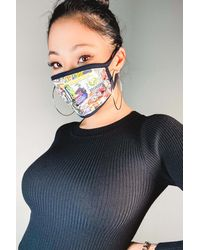 AKIRA On The Cover Fashion Face Mask - Multicolor
