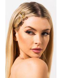 AKIRA Butterfly Kisses Hair Pins - Metallic
