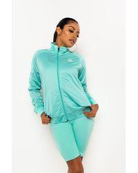 Kappa Womens 222 Banda Wanniston Slim Jacket - Green