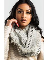 AKIRA - *doorbuster* Last Winter Infinity Knit - Lyst