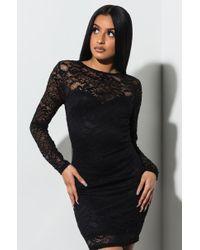 AKIRA - Close To Perfect Mini Dress - Lyst