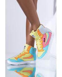 AKIRA Fila Wx-120 High Top Sneaker - Multicolor