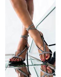 AKIRA - Promise Me Stiletto Sandal - Lyst